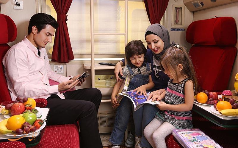 معرفی قطار 4 ستاره پرستو بن ریل، مالی ترین قطار اهواز