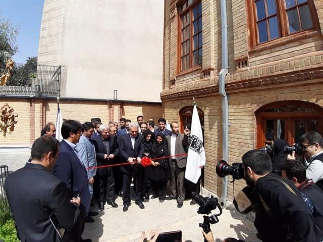 افتتاح بوتیک هتل نظامیه در تهران به مناسبت هفته دولت