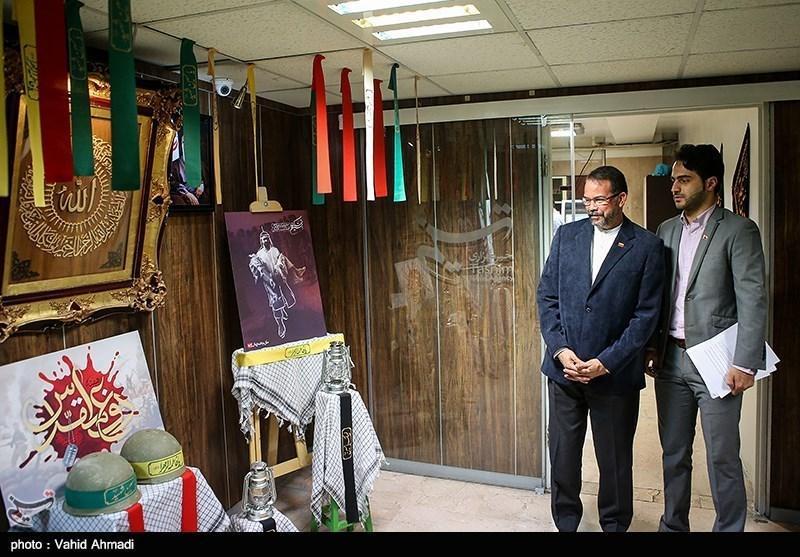 سفیر ونزوئلا از خبرنگاران بازدید کرد