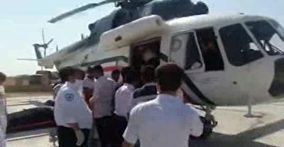 انتقال مصدومان حوادث جاده ای در عراق به ایلام