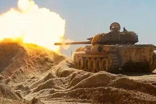 ارتش سوریه وارد شهر الطبقه در محور شمالی شد