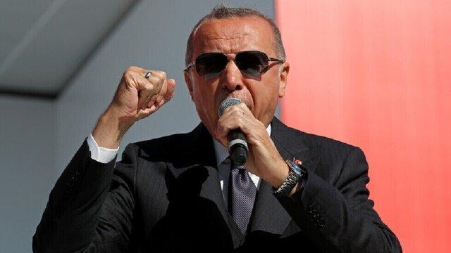 اردوغان: در صورت عدم پایبندی واشنگتن به وعده هایش، عملیات چشمه صلح ادامه می یابد