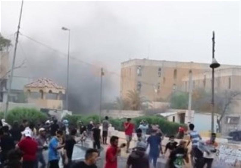 عراق، هشدار پلیس بصره درباره پیامدهای تعدی به اموال عمومی و نیروهای امنیتی
