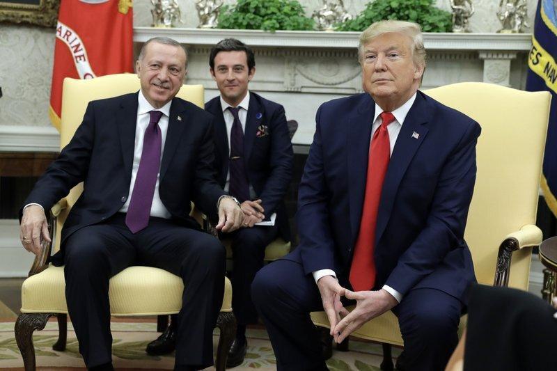 ترامپ و اردوغان در واشنگتن ملاقات کردند، ترامپ: وقت دیدن شهادت های استیضاح را ندارم