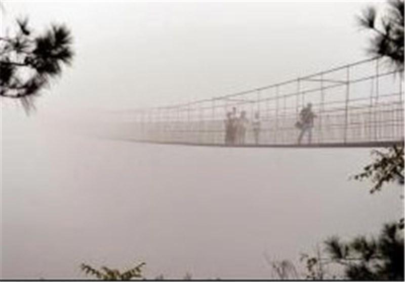 طولانی ترین پل شیشه ای جهان در چین