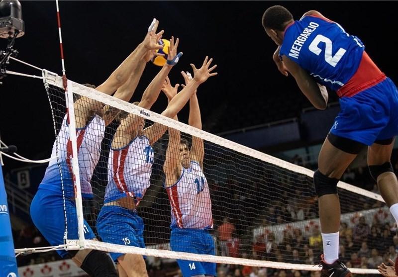 والیبال انتخابی المپیک، کانادا و کوبا پیروز شدند