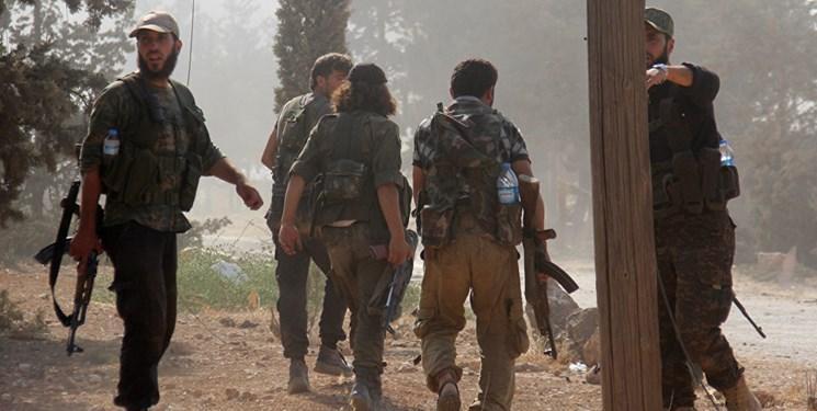 انتقال مواد شیمیایی توسط عناصر النصره و کلاه سفیدها به جنوب ادلب سوریه