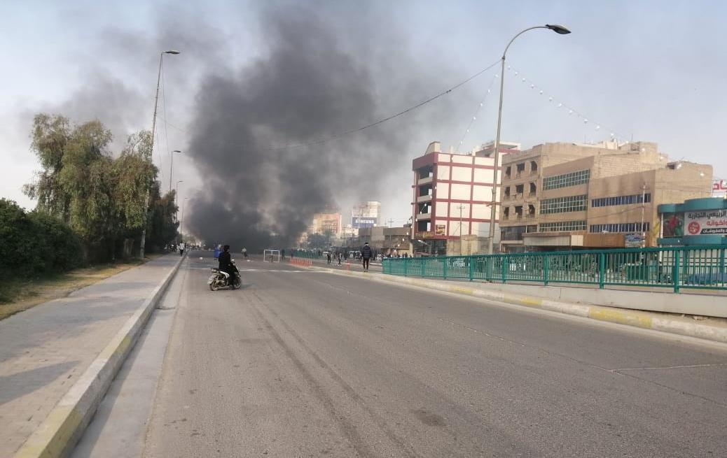 عراق، فرماندهی پلیس کربلا: عناصر نفوذی موکب های حسینی را به آتش کشیدند
