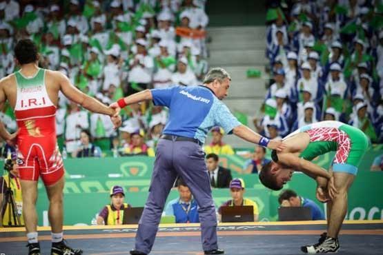 تیم کشتی آزاد ایران قهرمان آسیا شد