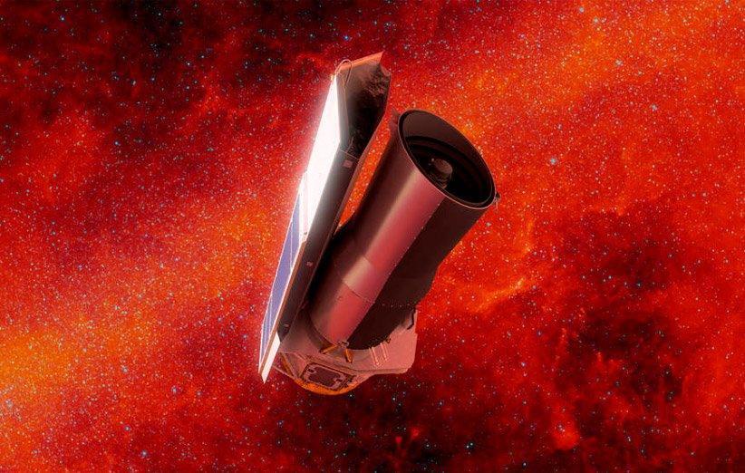 تلسکوپ فضایی اسپیتزر پس از 16 سال به خاتمه راه رسید