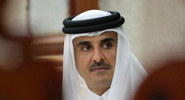 گفتگوی امیر قطر و همتای کویتی وی در خصوص مسائل منطقه ای و بین المللی
