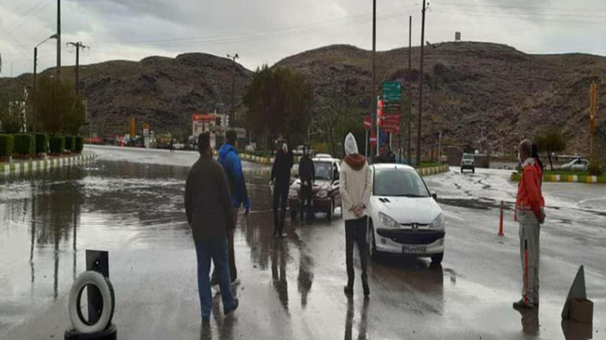 تردد غیرضروری خودرو ها در داراب ممنوع شد