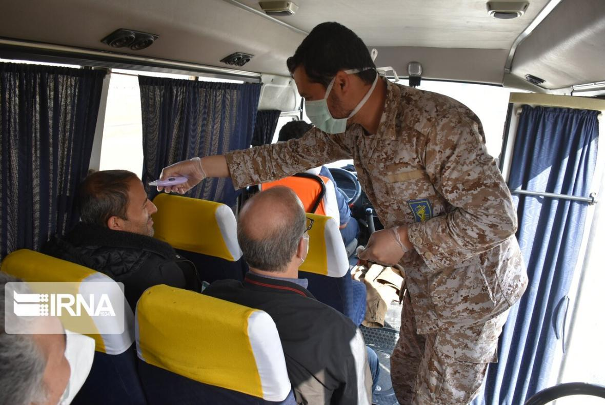 خبرنگاران 85 هزار نفر در پایانه های مسافربری مشهد تب سنجی شدند