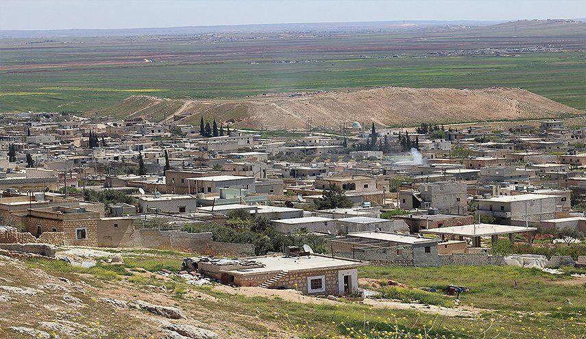 خبرنگاران حمله راکتی عناصر مسلح به روستاهای حلب سوریه