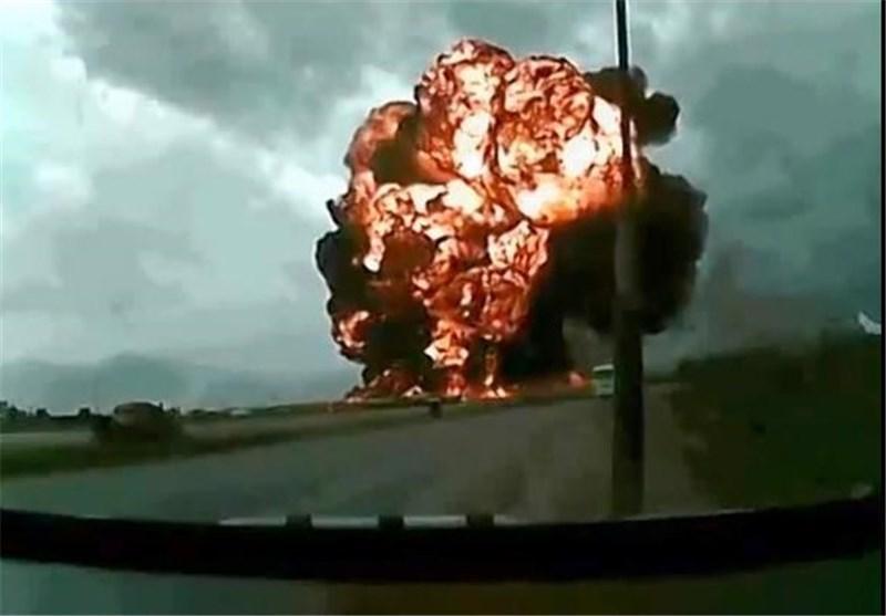 سقوط جنگنده آمریکایی در آریزونا
