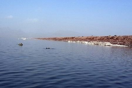 تراز دریاچه ارومیه در راستا صعود به 1272 متر