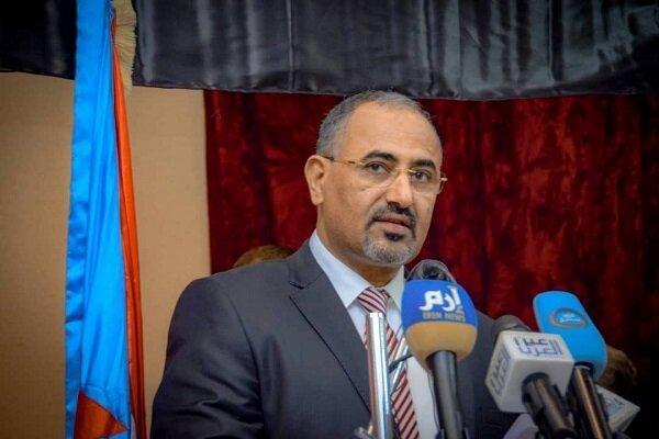 رئیس شورای انتقالی جنوب یمن تحت حمایت ابوظبی وارد ریاض شد