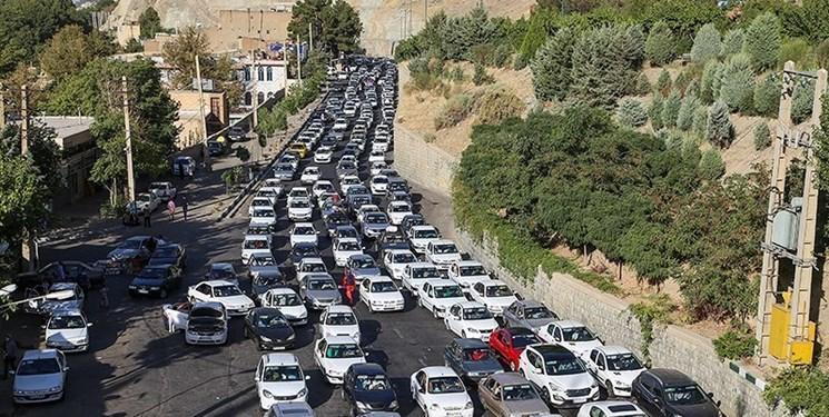 ترافیک روان در جاده های کشور، چالوس و هراز یک طرفه می گردد