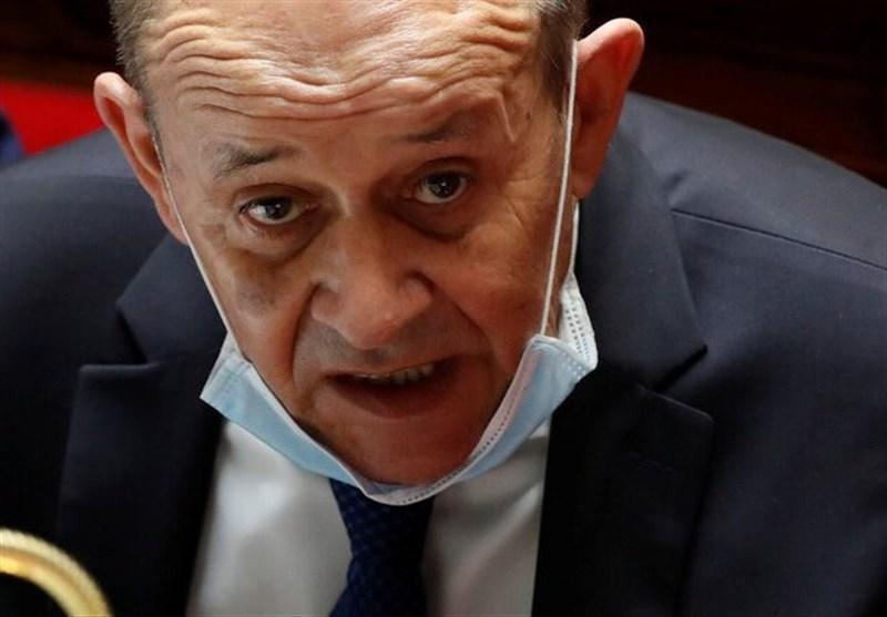 وزیر خارجه فرانسه وارد بیروت شد