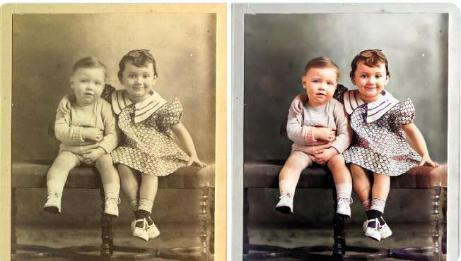 سایت MyHeritage مجهز به فناوری ارتقای کیفیت و وضوح عکس های قدیمی خانوادگی شد