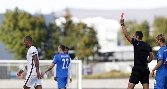 ایسلند 0 - 1 انگلیس؛ پیروزی در دقیقه 1