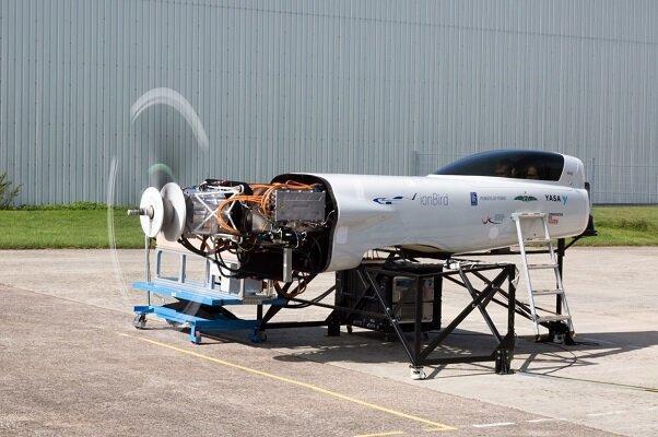 آزمایش موتور سریع ترین هواپیمای برقی جهان