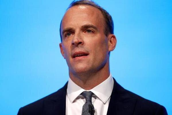 وزیر خارجه انگلیس خودش را قرنطینه کرد