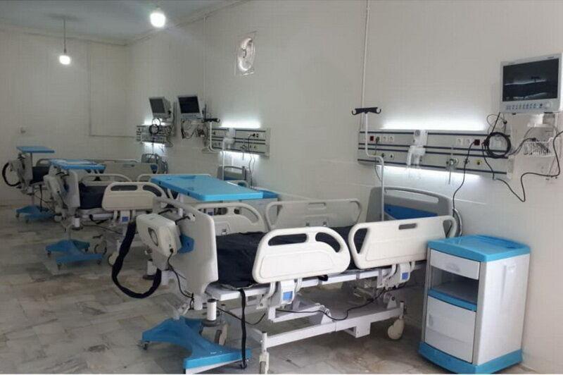 خبرنگاران مرکز بیماران تنفسی در آبادان راه اندازی شد