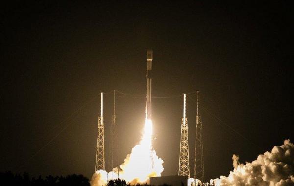اسپیس ایکس با فرستادن ماهواره ترک ست نخستین پرتاب فضایی 2021 را رقم زد