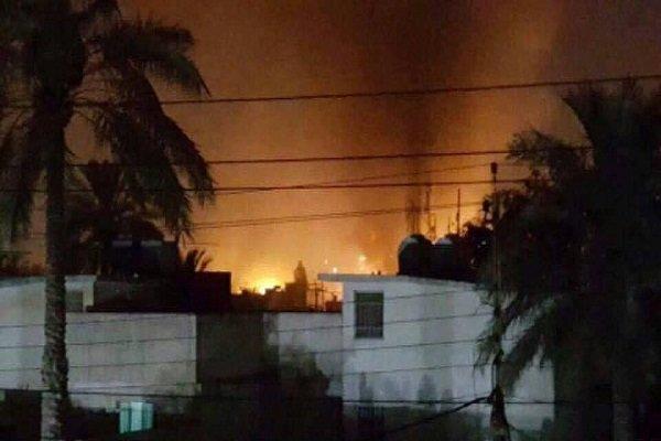 اصابت 3 خمپاره به اطراف فرودگاه اربیل عراق