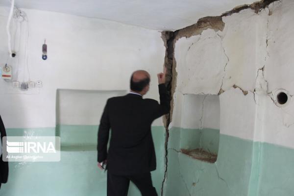 خبرنگاران زلزله به منازل مسکونی َمردَهَک استان کرمان خسارت جزیی زد