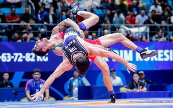 انتخابی کشتی فرنگی المپیک؛ 3 ایرانی به نیمه نهایی رسیدند