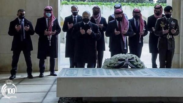 اولین حضور ولیعهد سابق در کنار پادشاه اردن از زمان بحران کودتا