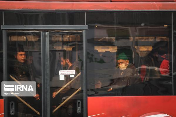 خبرنگاران توقف مسافرگیری در سه ایستگاه اتوبوس خط هفت تهران