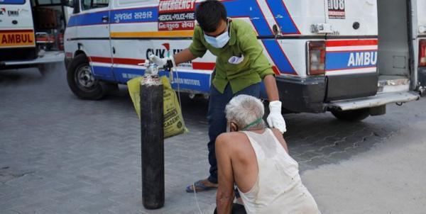 قربانیان کرونا در هند برای نخستین بار از 3 هزار نفر در روز فراتر رفت