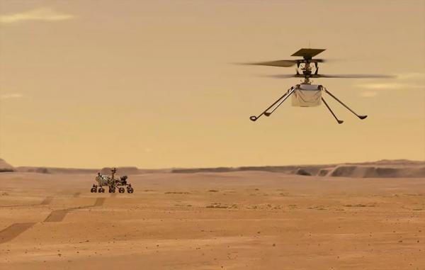 هلیکوپتر مریخی ناسا بار دیگر در آسمان مریخ به پرواز درآمد