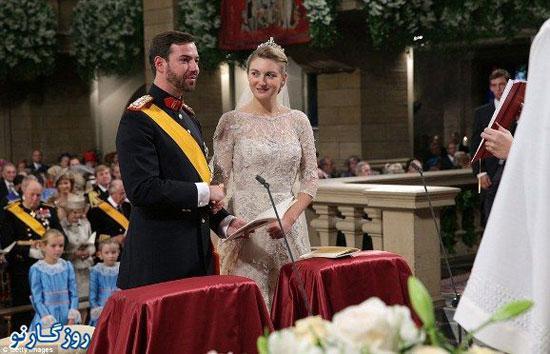 گزارش تصویری از یک ازدواج سلطنتی