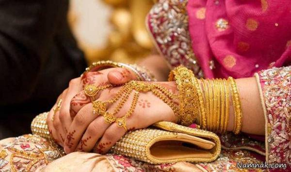 علتی عجیب برای درخواست طلاق در مراسم عروسی