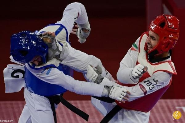 شکست هادی پور در مرحله یک چهارم نهایی المپیک