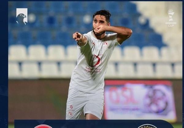 تور قطر: جام Ooredoo قطر، تساوی العربی با گل های مهرداد محمدی