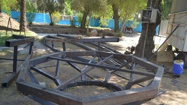 طرح باغ ویلا: آماده سازی یادمان شهدای گمنام پارک شهید صباغان
